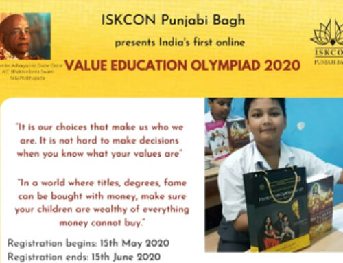 India's first Online Value Education Olympiad (Jun 2020)
