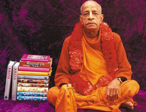 Tasting the nectar of Srila Prabhupada's treasure