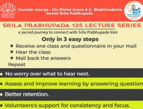 A chance to be a step closer to Srila Prabhupada
